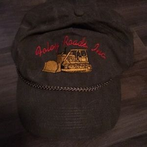 Other - Foley Roads Autumn Fall Mens Yellow Tractor Hat